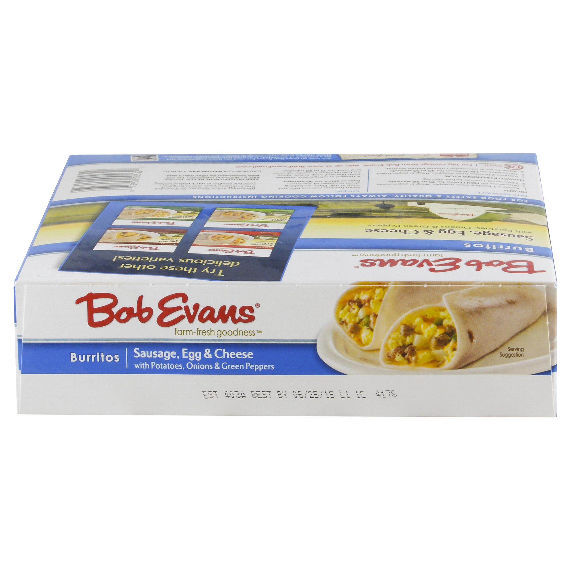 Bob Evans Burritos Sausage Egg & Cheese 14.4 oz   Meijer.com