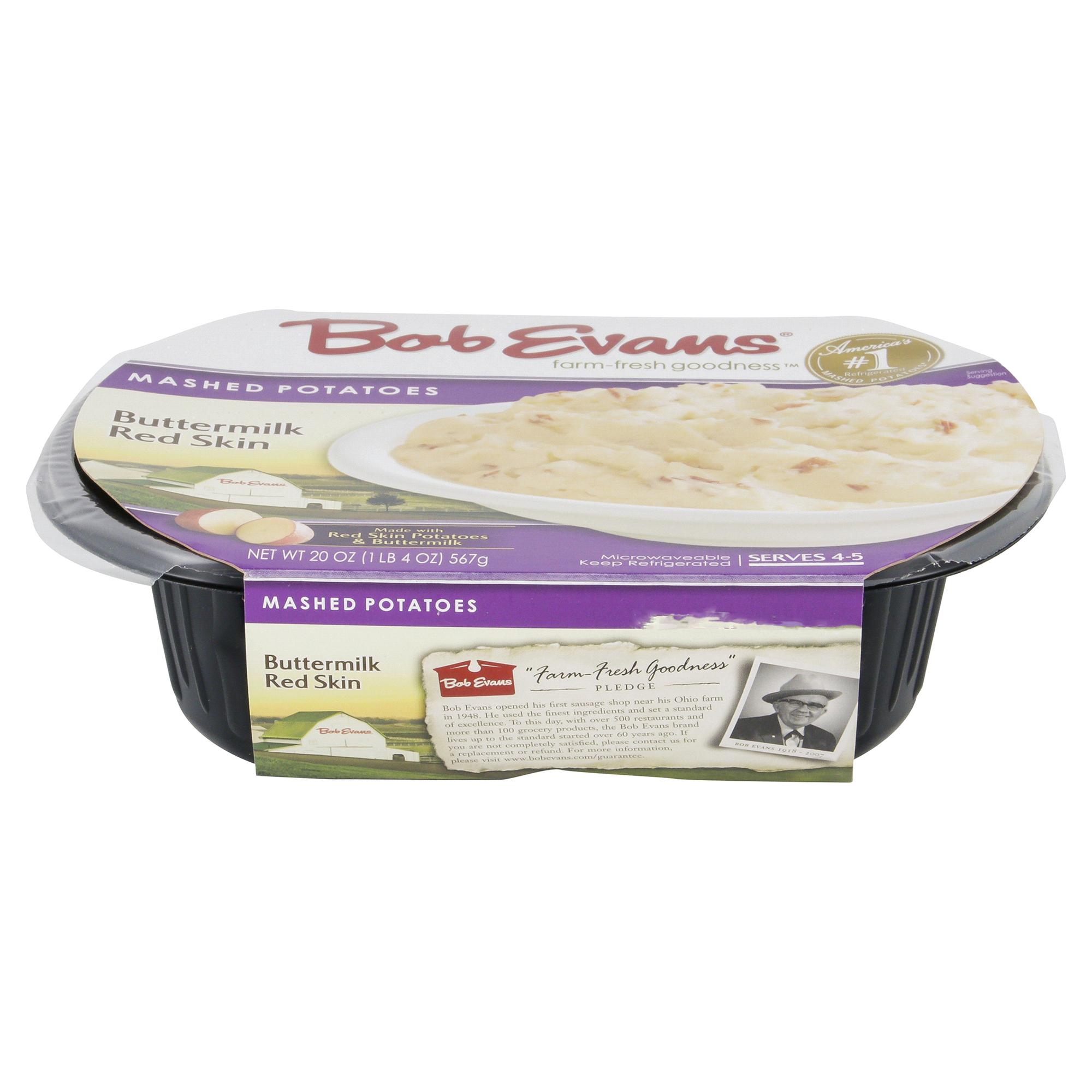 Bob Evans Mashed Potatoes Buttermilk Red Skin 20 Oz Meijer