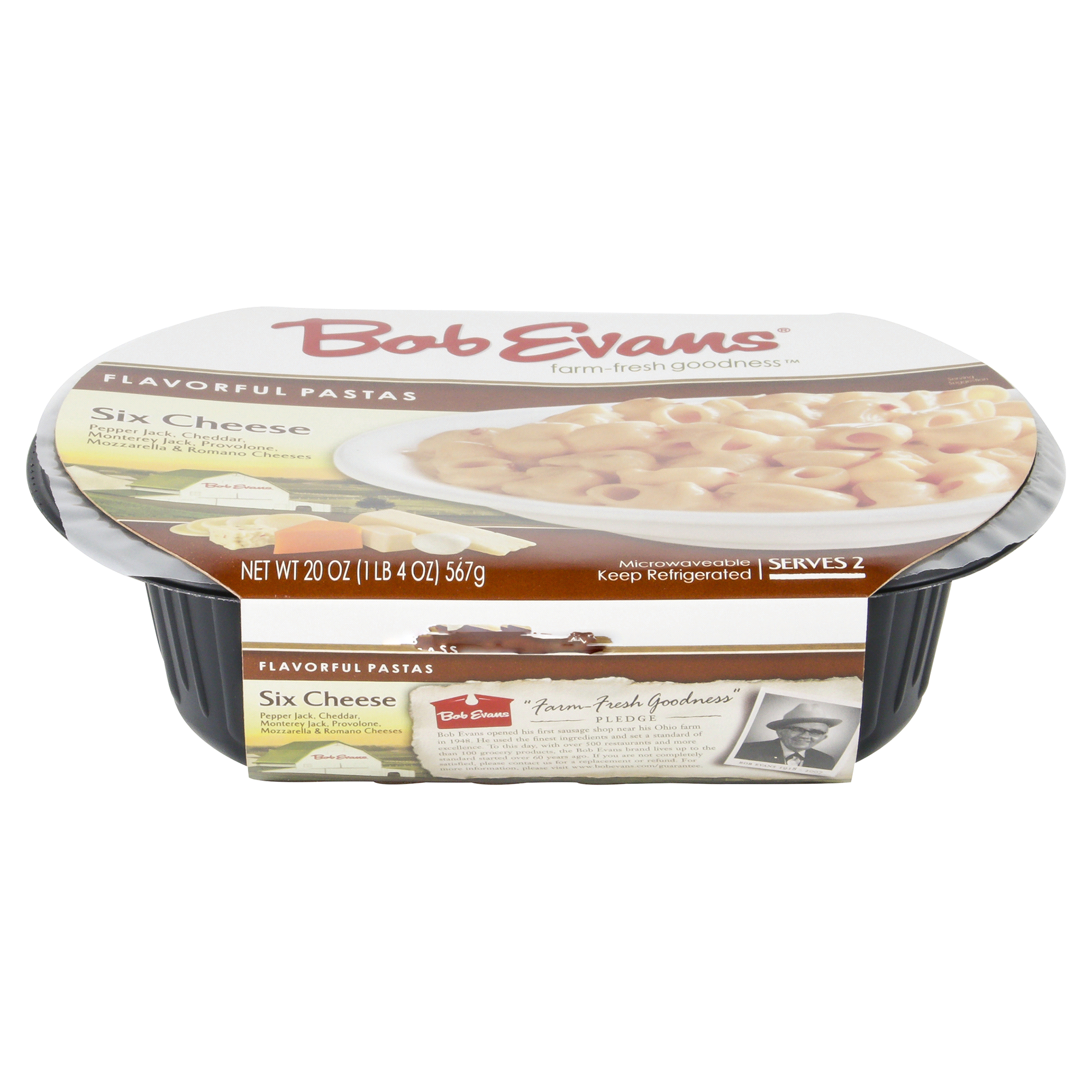 Bob Evans Flavorful Pastas Six Cheese 20 oz | Meijer.com