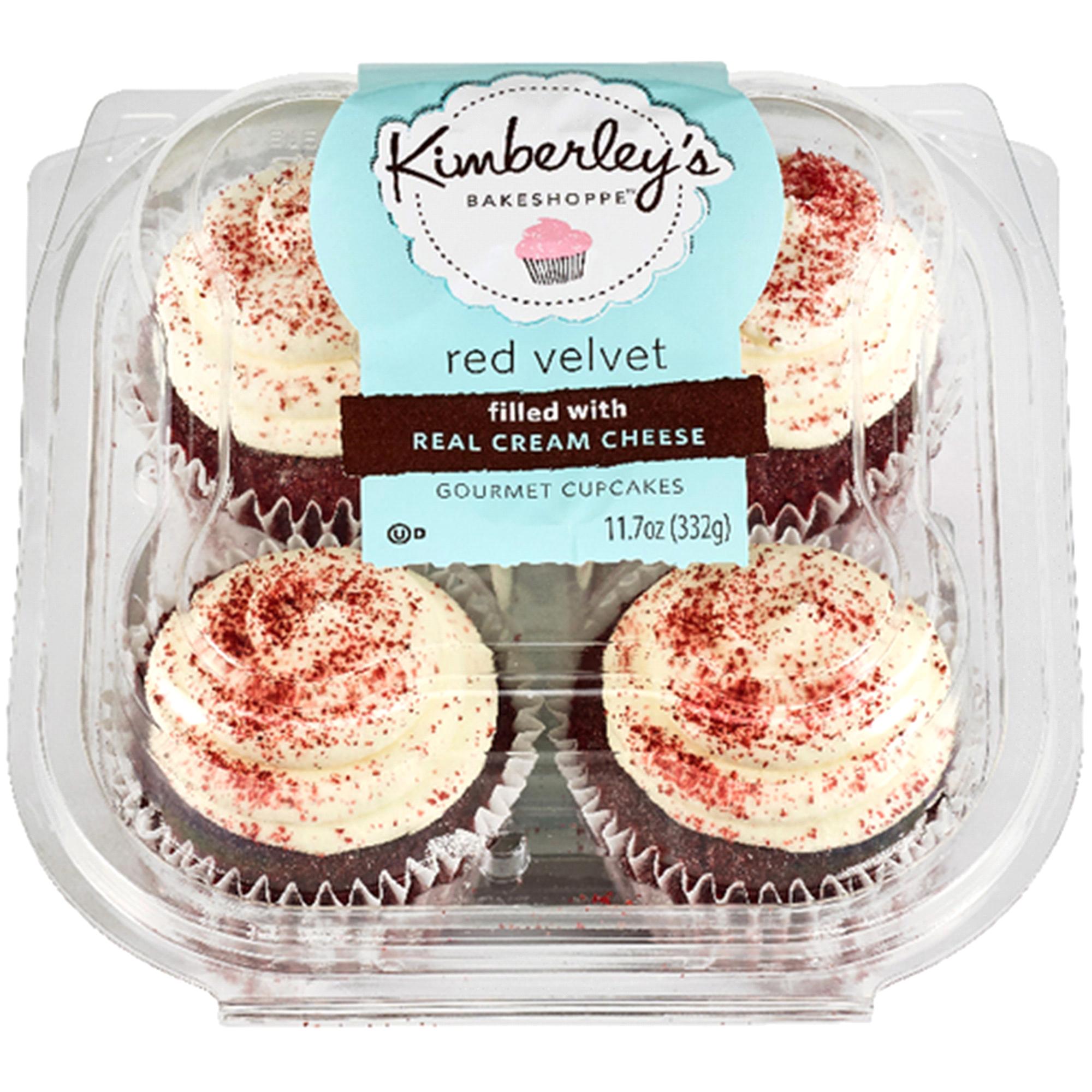 Kimberlys Cupcakes Red Velvet 4 ct 11 7 oz