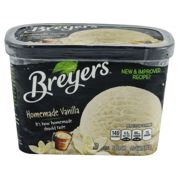 Breyers Homemade Vanilla Ice Cream 15 Qt
