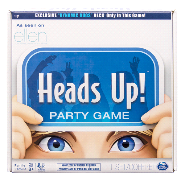 Spin Master Games Heads Up! Board Game (Edition May Vary)