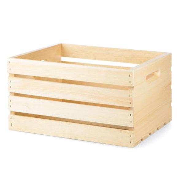 Pine Wood Crate   Meijer.com