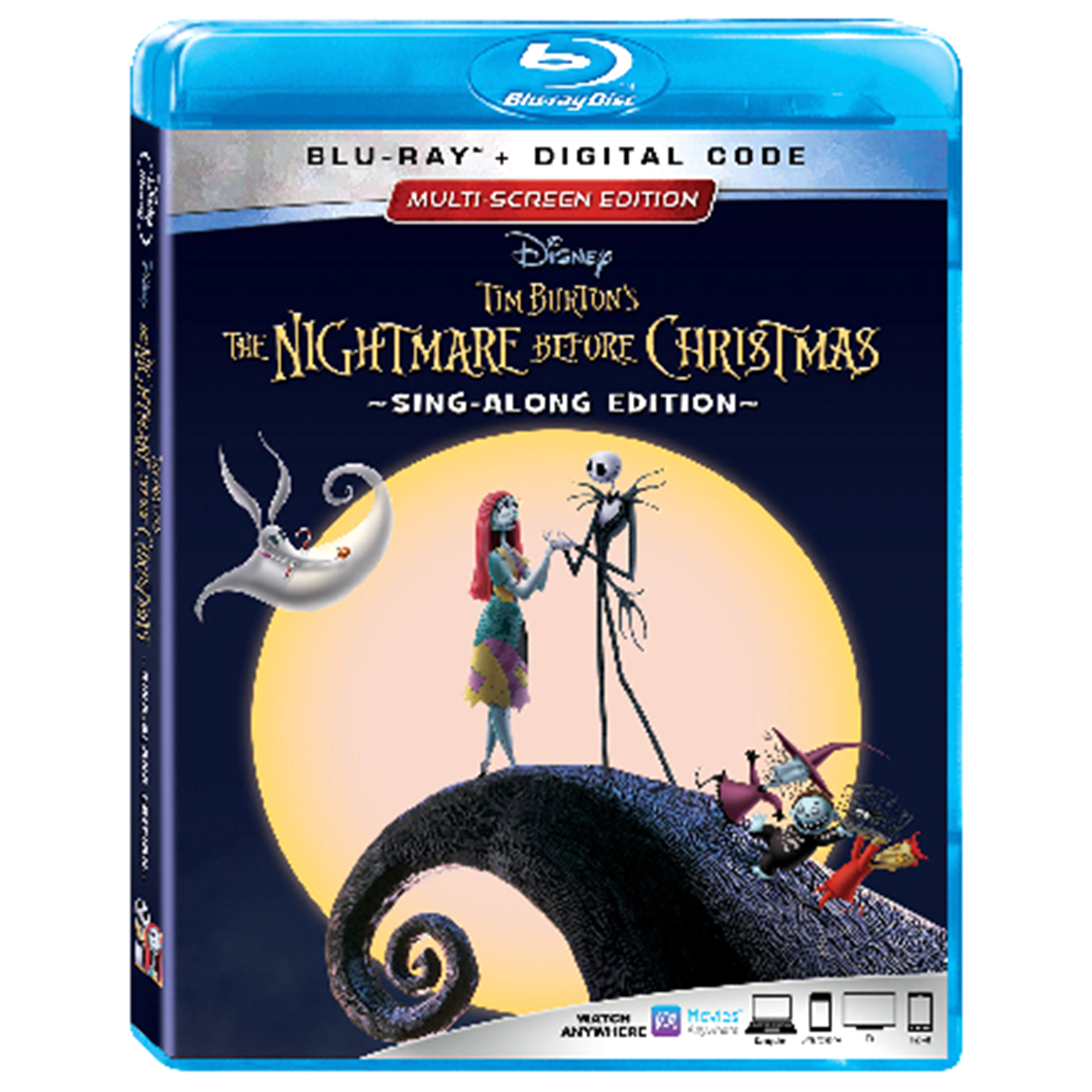 The Nightmare Before Christmas 25th Anniversary Edition 1 BD-2D + e ...