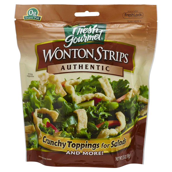 Fresh gourmet authentic wonton strips 35 oz meijer fresh gourmet authentic wonton strips 35 oz m4hsunfo