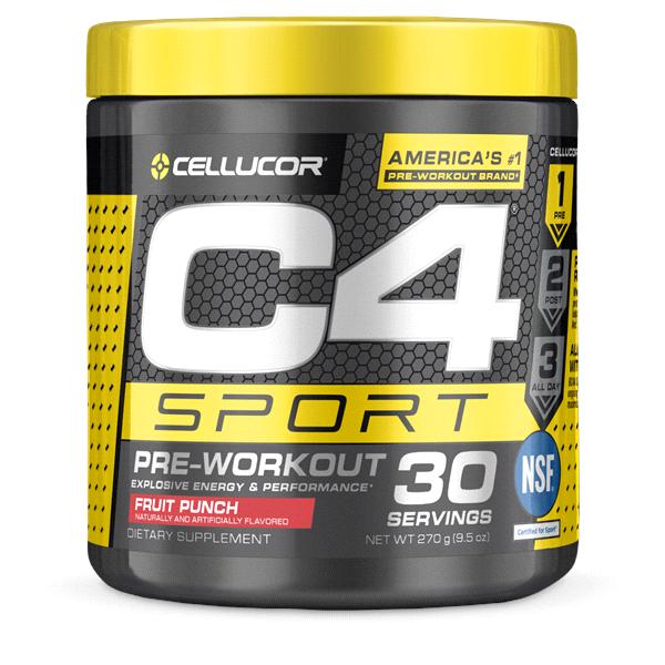 C4 Sport Fruit Punch Pre Workout Powder Meijer