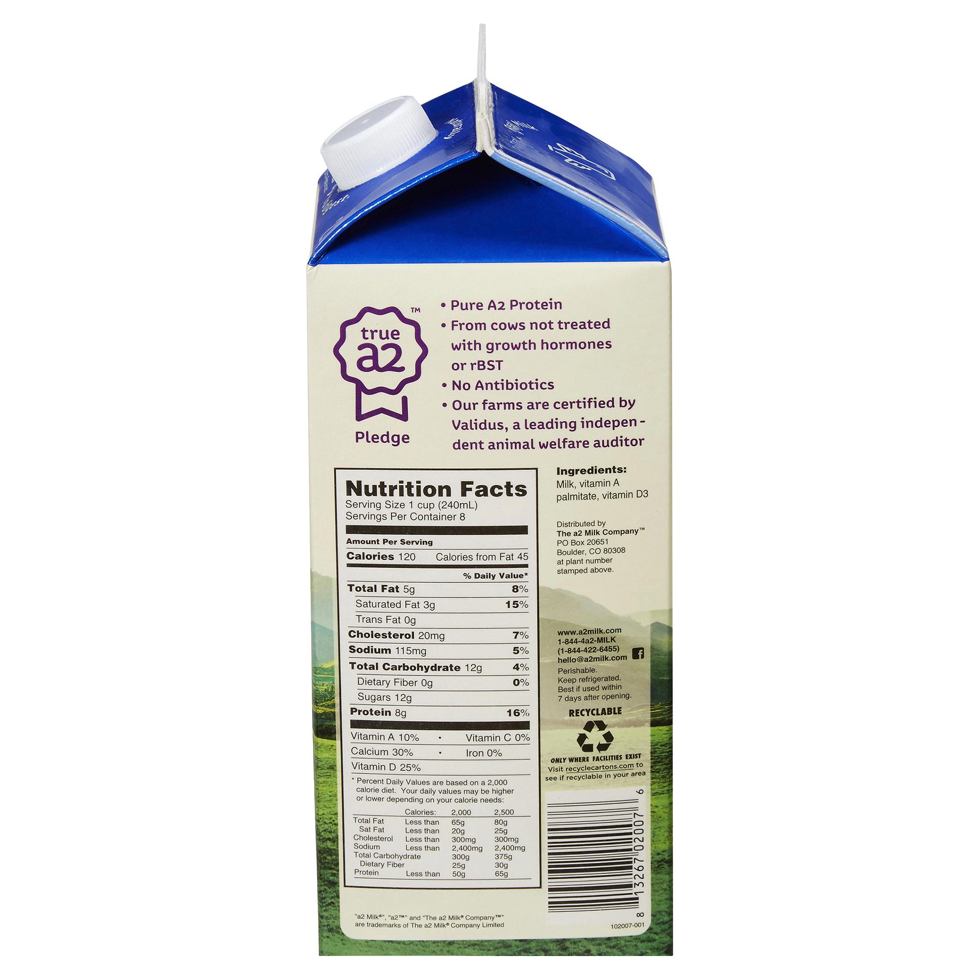 A2 Reduced Fat 2 Milk 1 Gallon