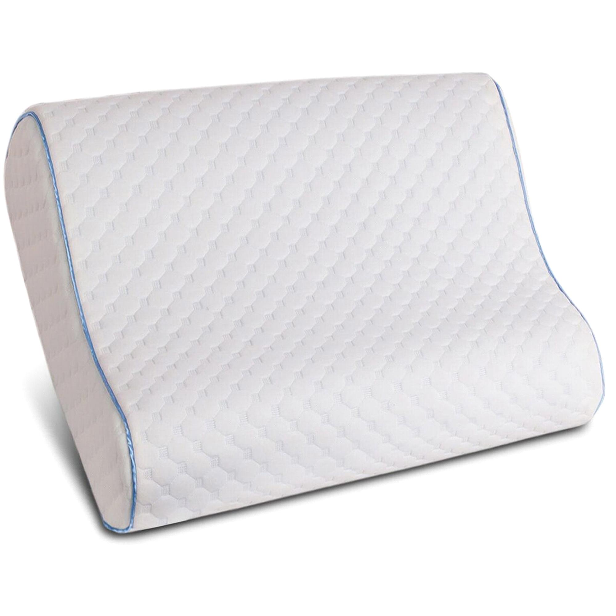 memory product innovations therapeutic pillow sleep contourpillow contour foam pillows