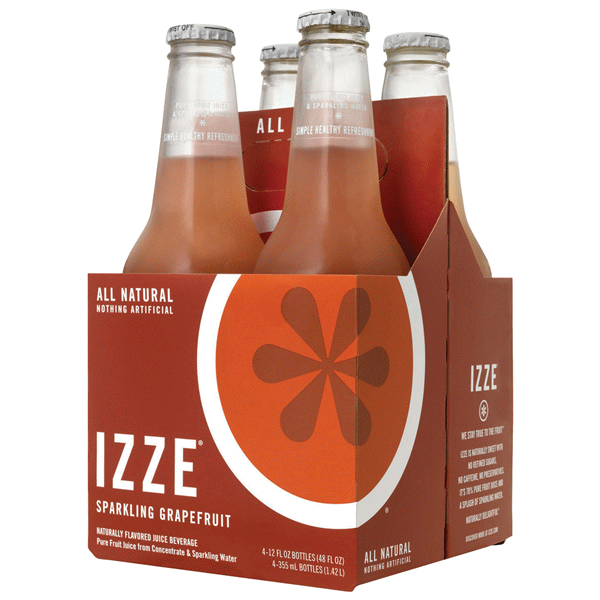 New Izze 4-packs coupons