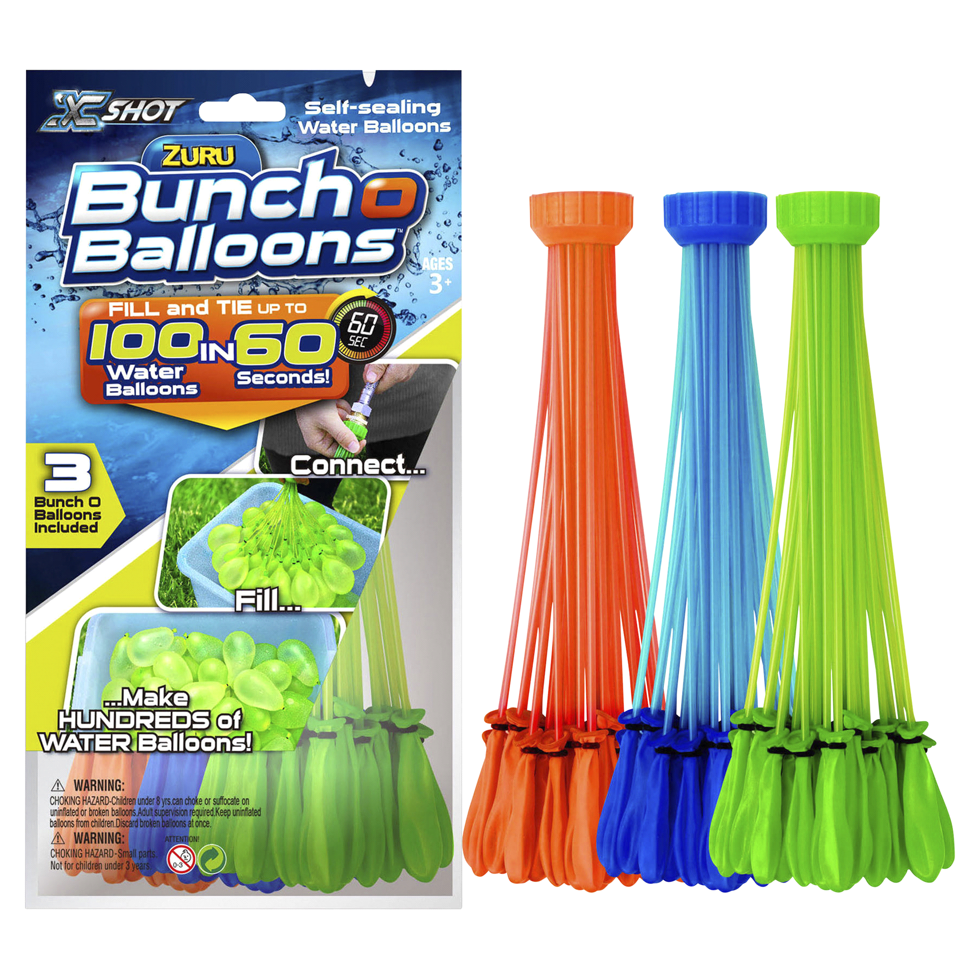 Bunch of Balloons 3 Pk