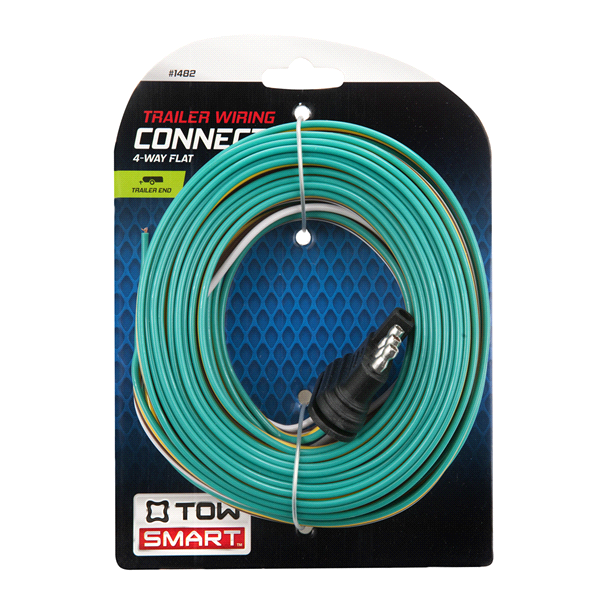 Trailer Wiring Connector - 4 Way Flat 21 | Meijer.com