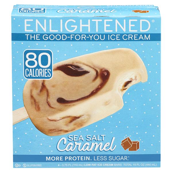 Enlightened Sea Salt Caramel Ice Cream Bar 15oz