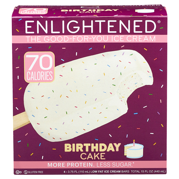 Enlightened Birthday Cake Ice Cream Bar 15oz