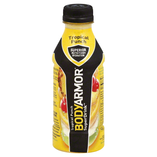 Bodyarmor Tropical Punch Super Drink 16 Oz Meijer