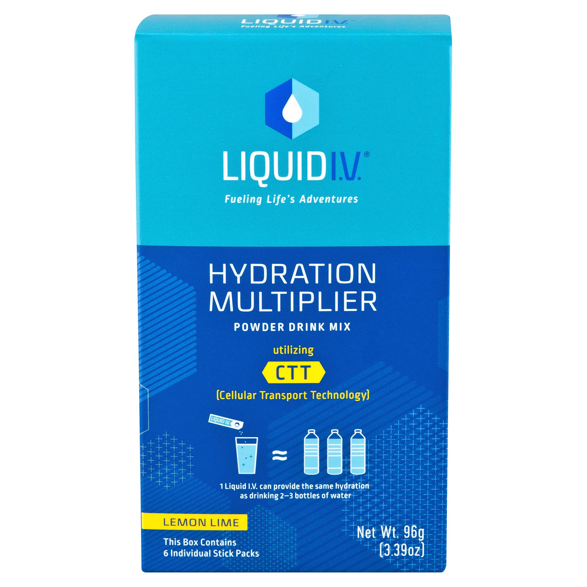 Liquid I.V.\'s Hydration Multiplier Lemon Lime 6 Pack | Meijer.com