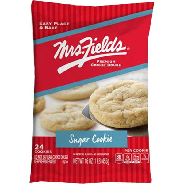 Mrs Fields Original Sugar Cookie Dough Meijer Com