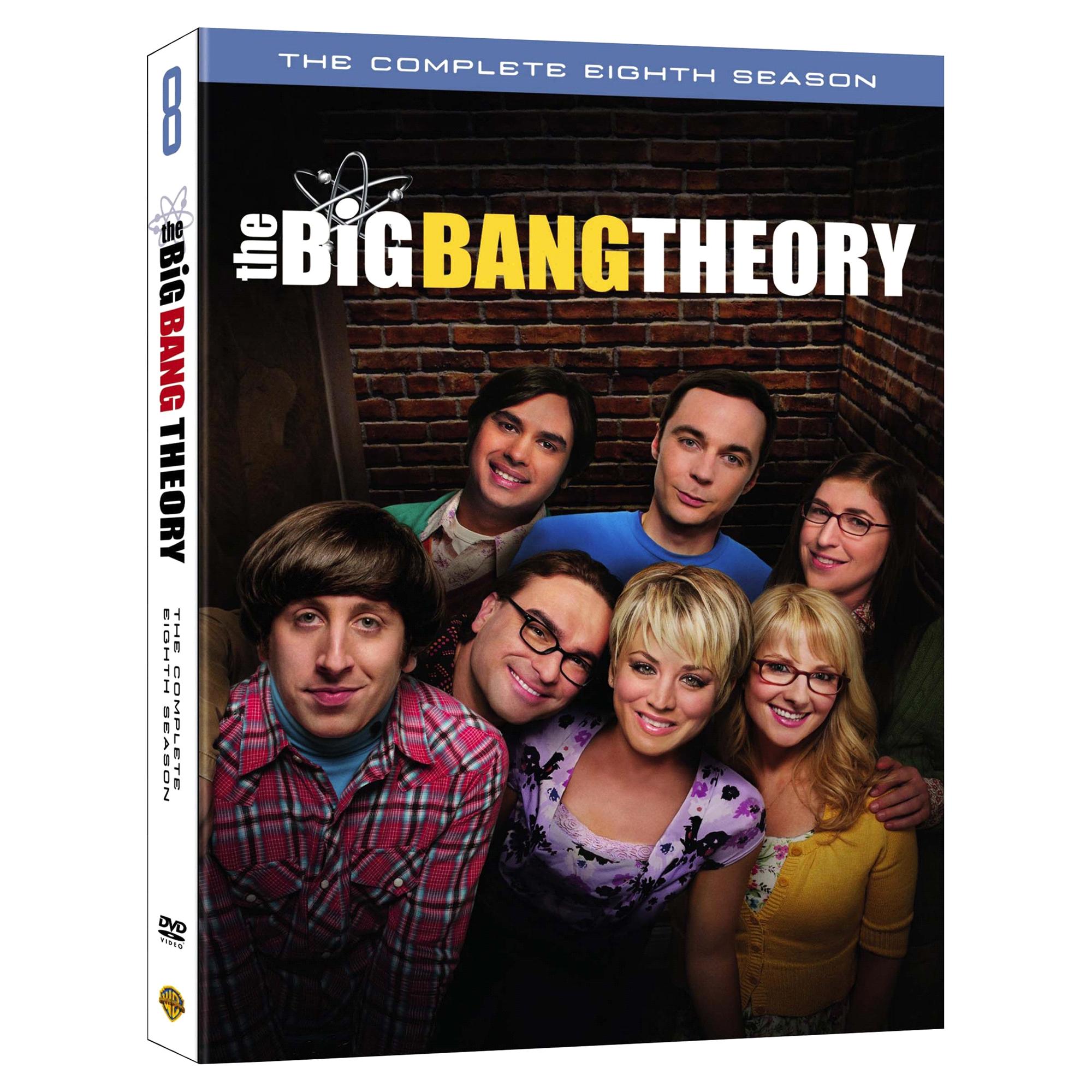 the big bang theory season 8 dvd | meijer