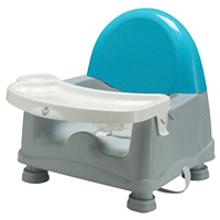 Safety 1st Easy Care Swing Tray Feeding Booster Lakeside