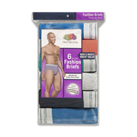 f95b239a66 Fruit of the Loom Mens Fashion Briefs Assorted Large 6 Pack