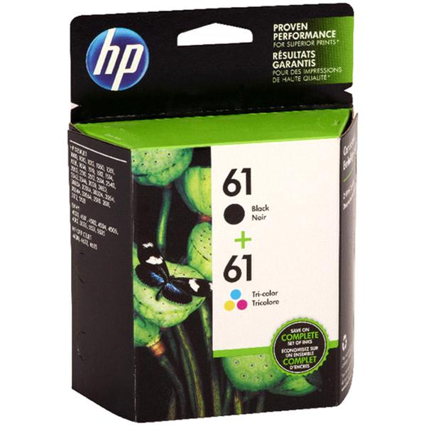 HP 61 Original Ink 2 Pack Black/Tri-color | Meijer.com