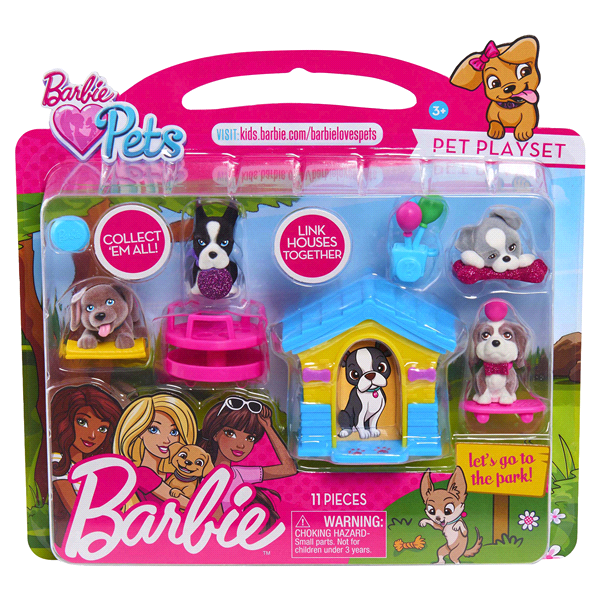 Barbie Pets Play Set Assorted Items Meijercom