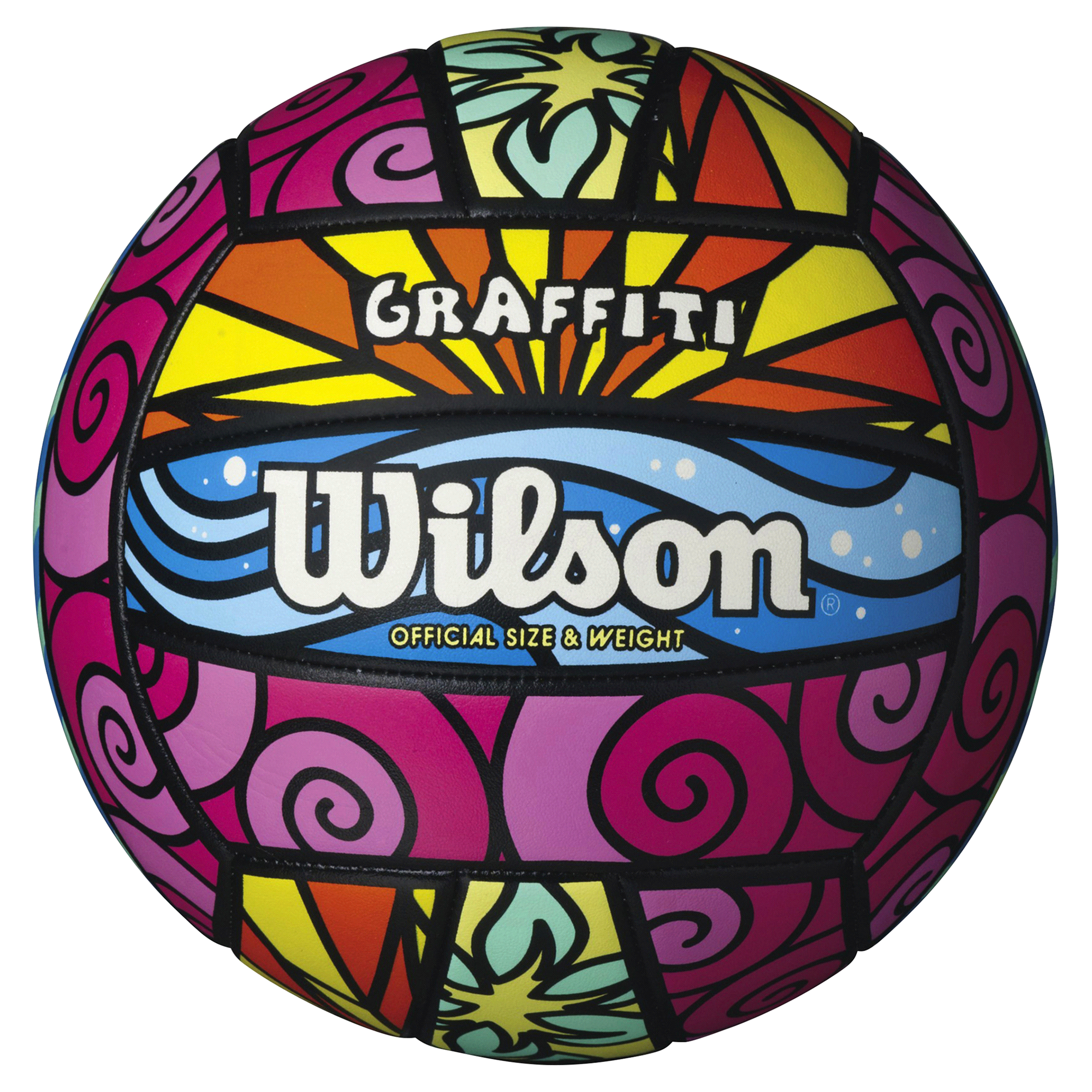 wilson graffiti volleyball meijer com