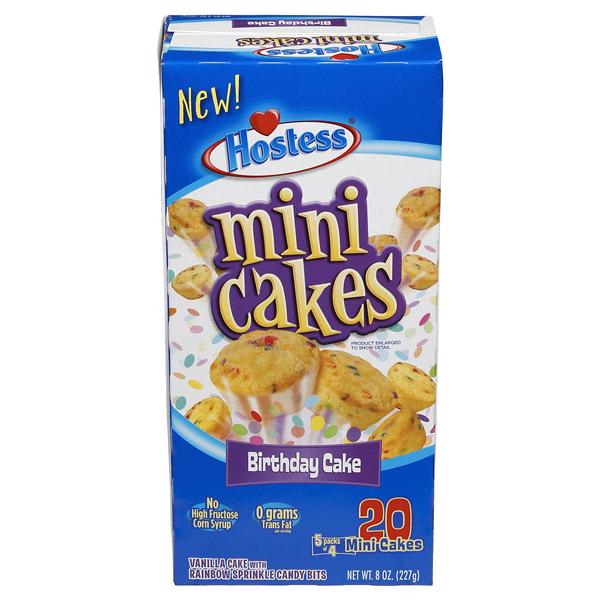 Hostess Mini Cakes Birthday Cake 8 Oz Meijer