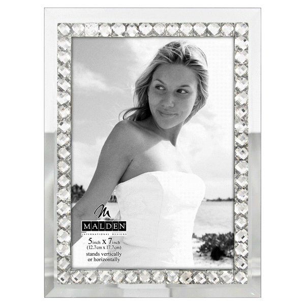 Malden Jeweled Mirror 5 x 7 Picture Frame | Meijer.com