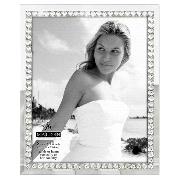 Malden Jeweled Mirror 8 x 10 Picture Frame | Meijer.com