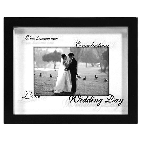 Malden Wedding Shadowbox 4 x 6 Black Picture Frame | Meijer.com