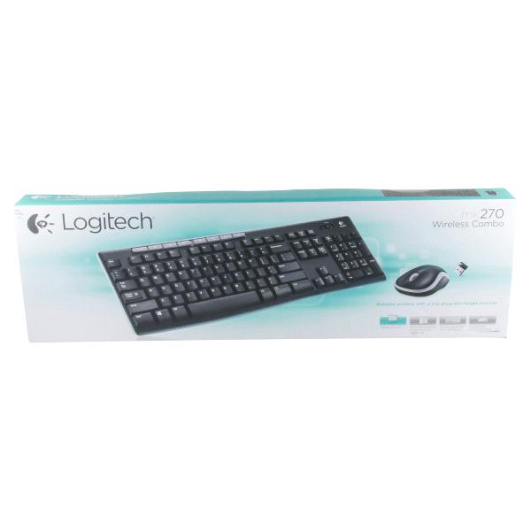 Logitech® Wireless Combo Keyboard and Mouse MK270  b4808c0331406