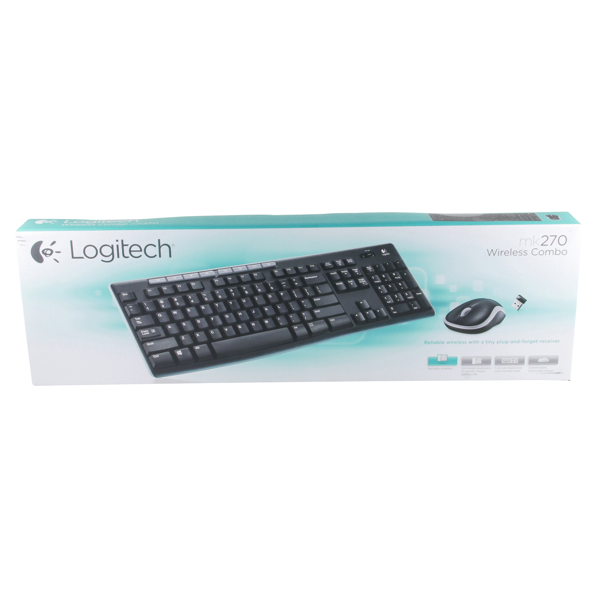 Logitech Wireless Combo Keyboard And Mouse Mk270 Mix Your Cocktail Using A