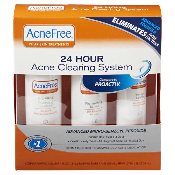 Acne Free 3 Step Kit