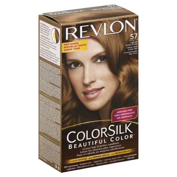 Revlon Colorsilk Beautiful Color Permanent Haircolor Lightest Golden