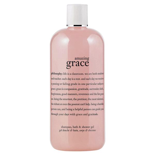 Philosophy Amazing Grace Shampoo Shower Gel Bubble Bath 16 Oz