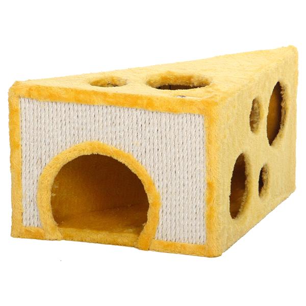 meijer cheese wedge cat scratcher