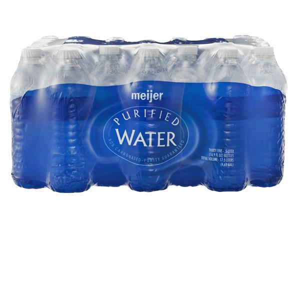 95f6ff470895e Meijer Purified Drinking Water Bottles 35 Count