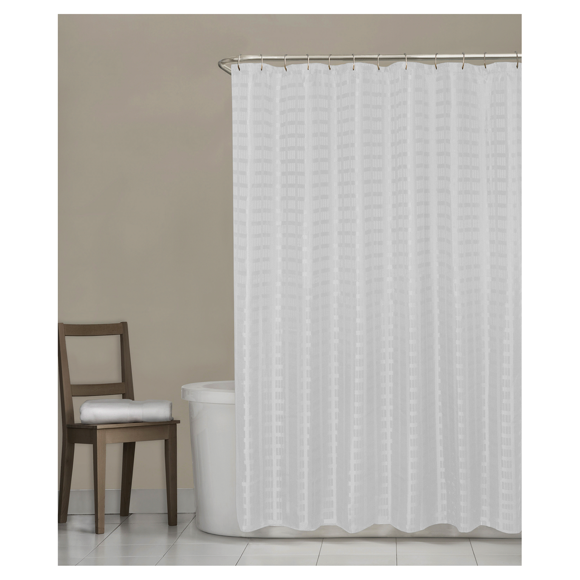 Mustache shower curtain - Mustache Shower Curtain 43