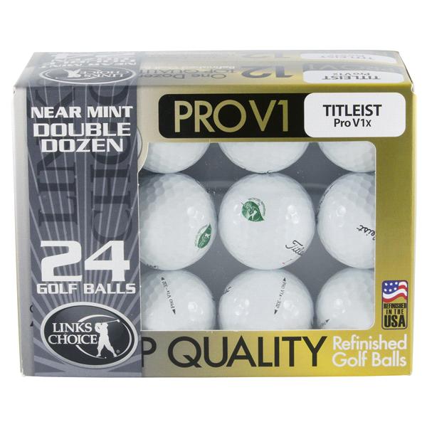 Perfect Titleist Pro V1 Near Mint Refinished 24-Golf Ball Pack   Meijer.com XB74