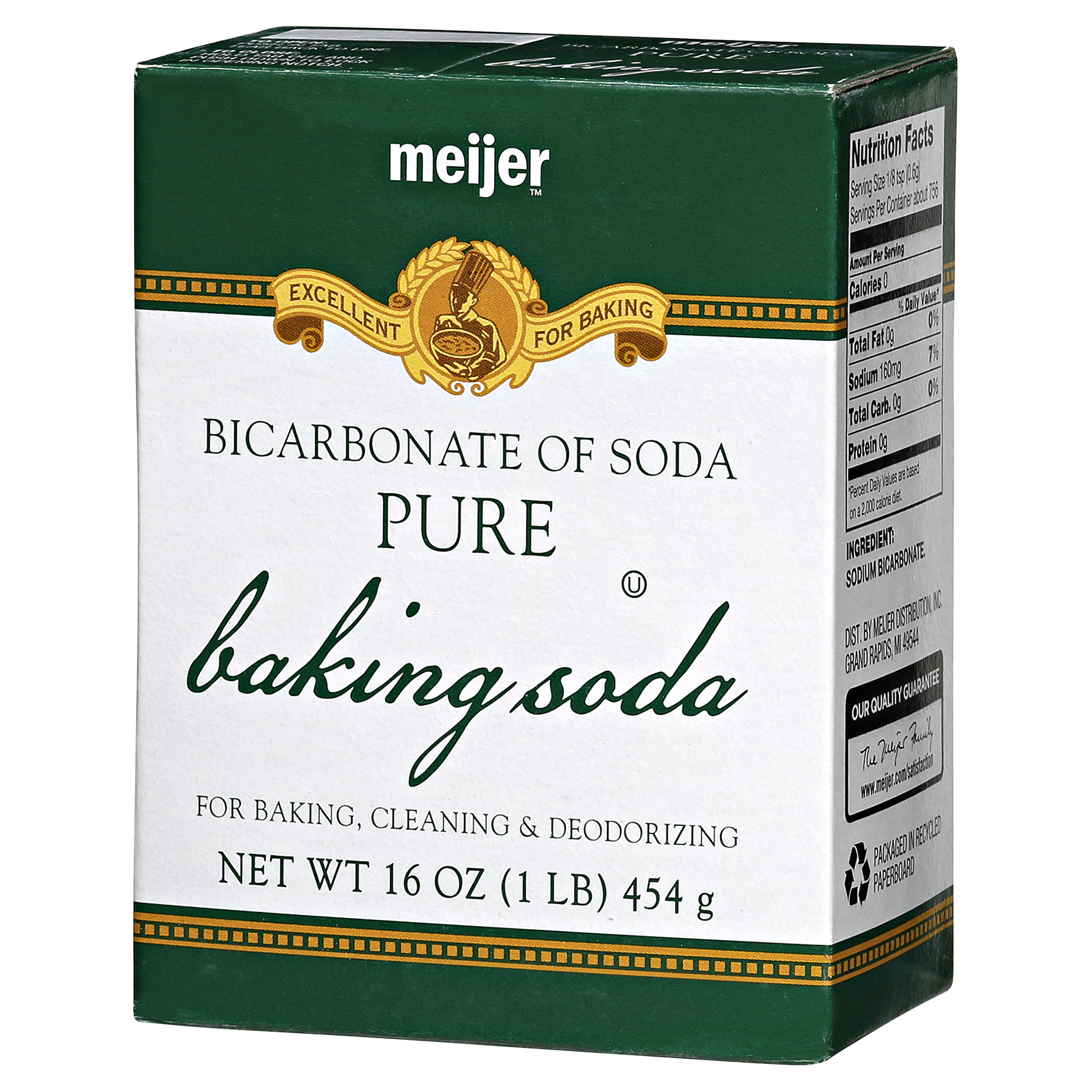 Meijer Baking Soda 16 oz