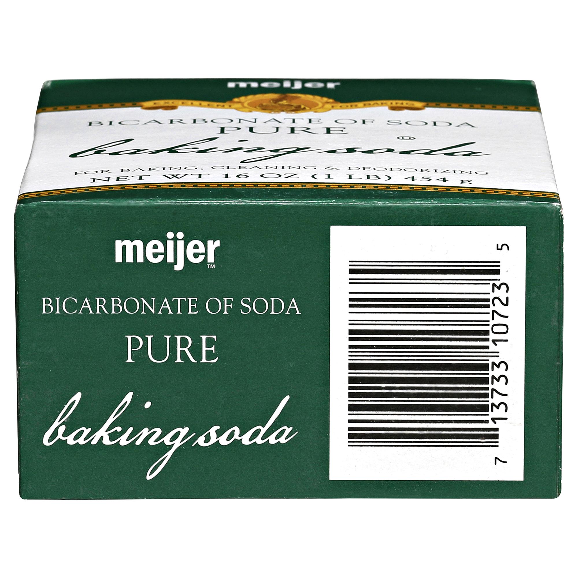Meijer Baking Soda 16 oz