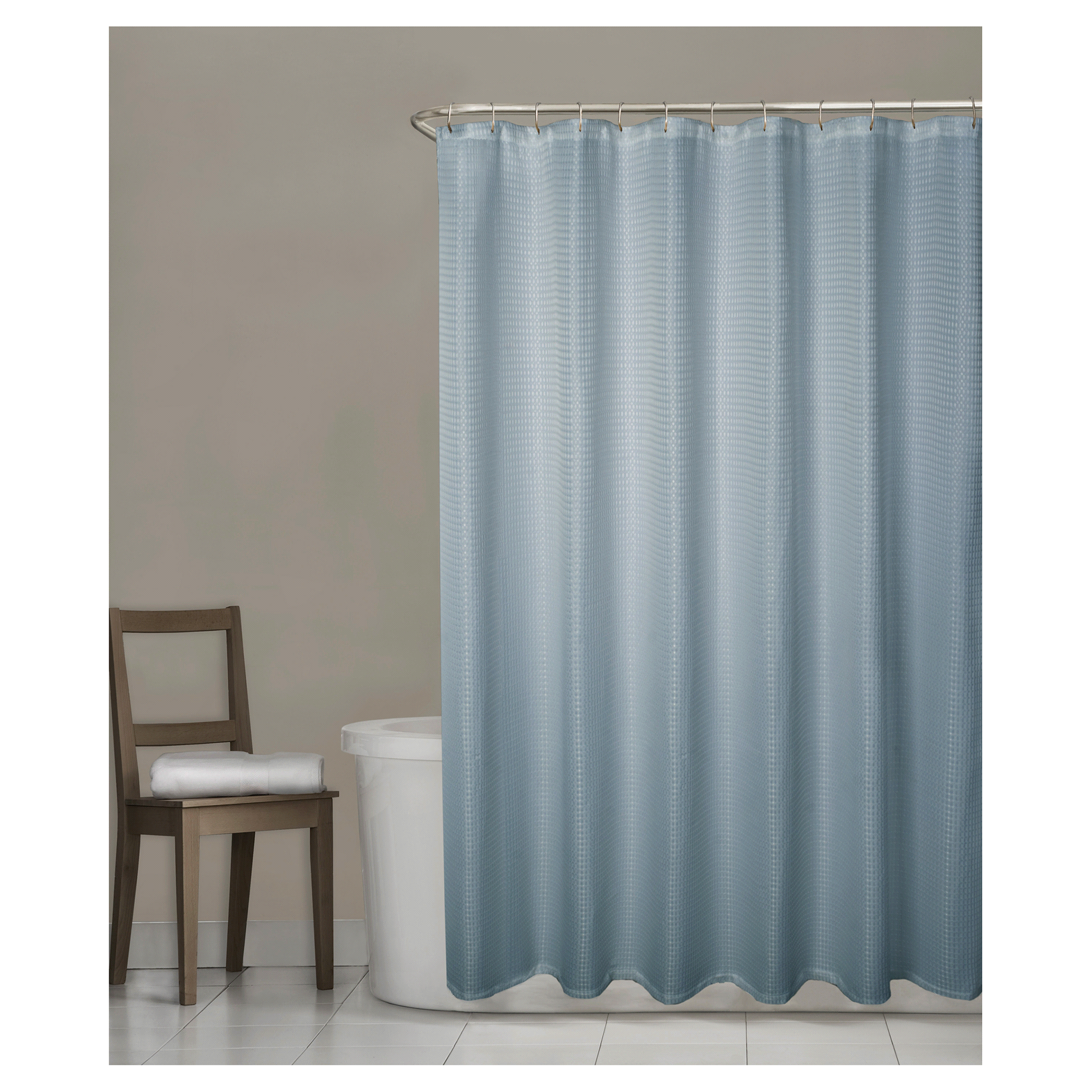 Clear fish shower curtain - Clear Fish Shower Curtain