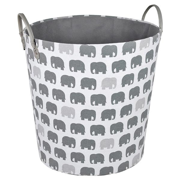 Beau Room U0026 Retreat Large Bin With Elephant Print