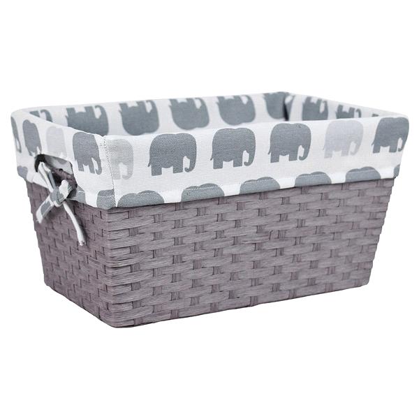 Room U0026 Retreat Grey Tote With Elephant Liner