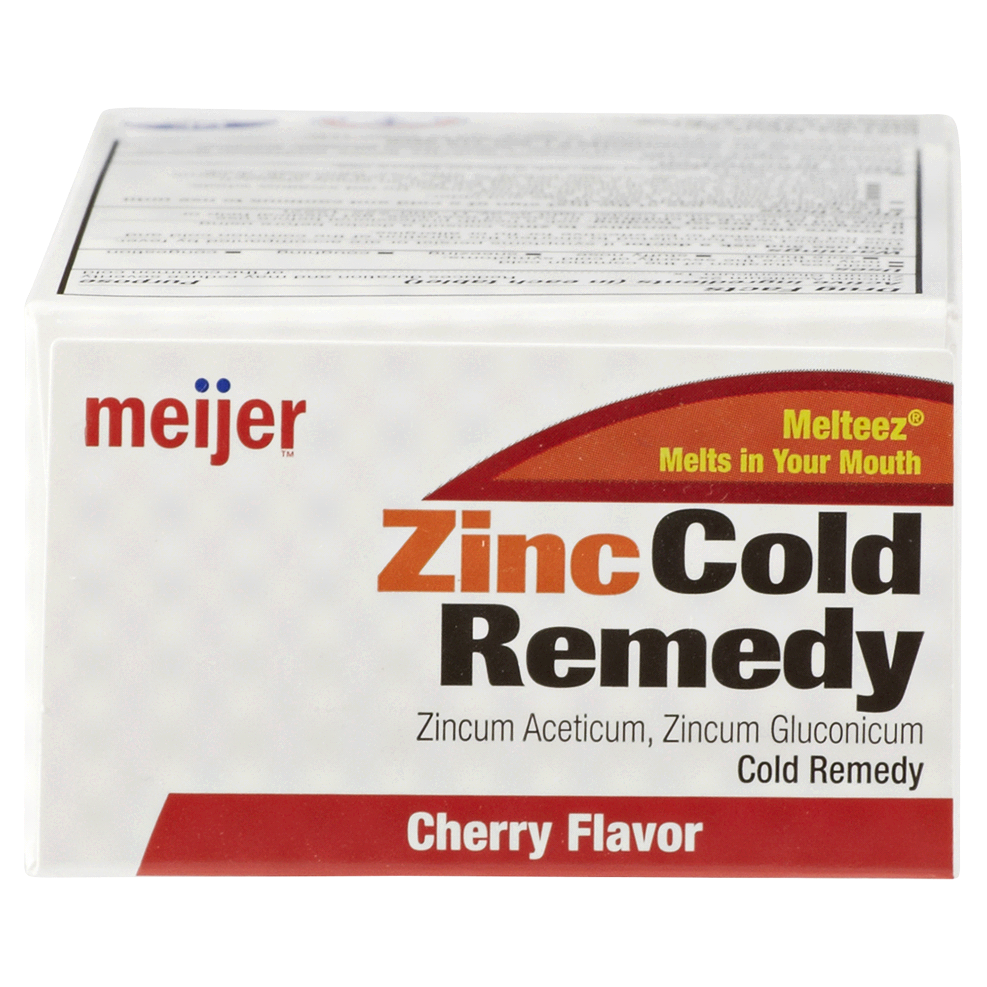 Meijer Zinc Cold Therapy Tablets Cherry 25 Ct Meijer Com