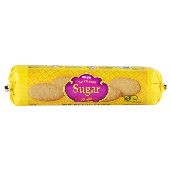 Meijer Sugar Cookie Dough 16 5 Oz Tube Meijer Com