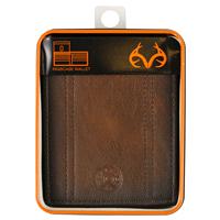 c452525284fe Realtree Passcase Bi-Fold Wallet Brown