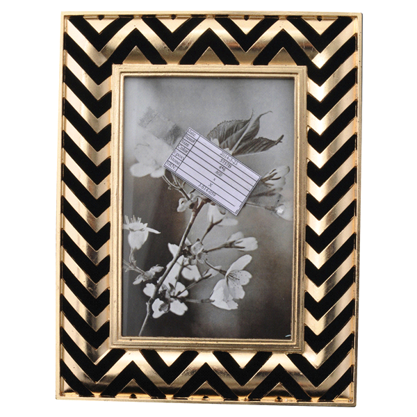 Sheffield home gold zig zag frame 4 x 6