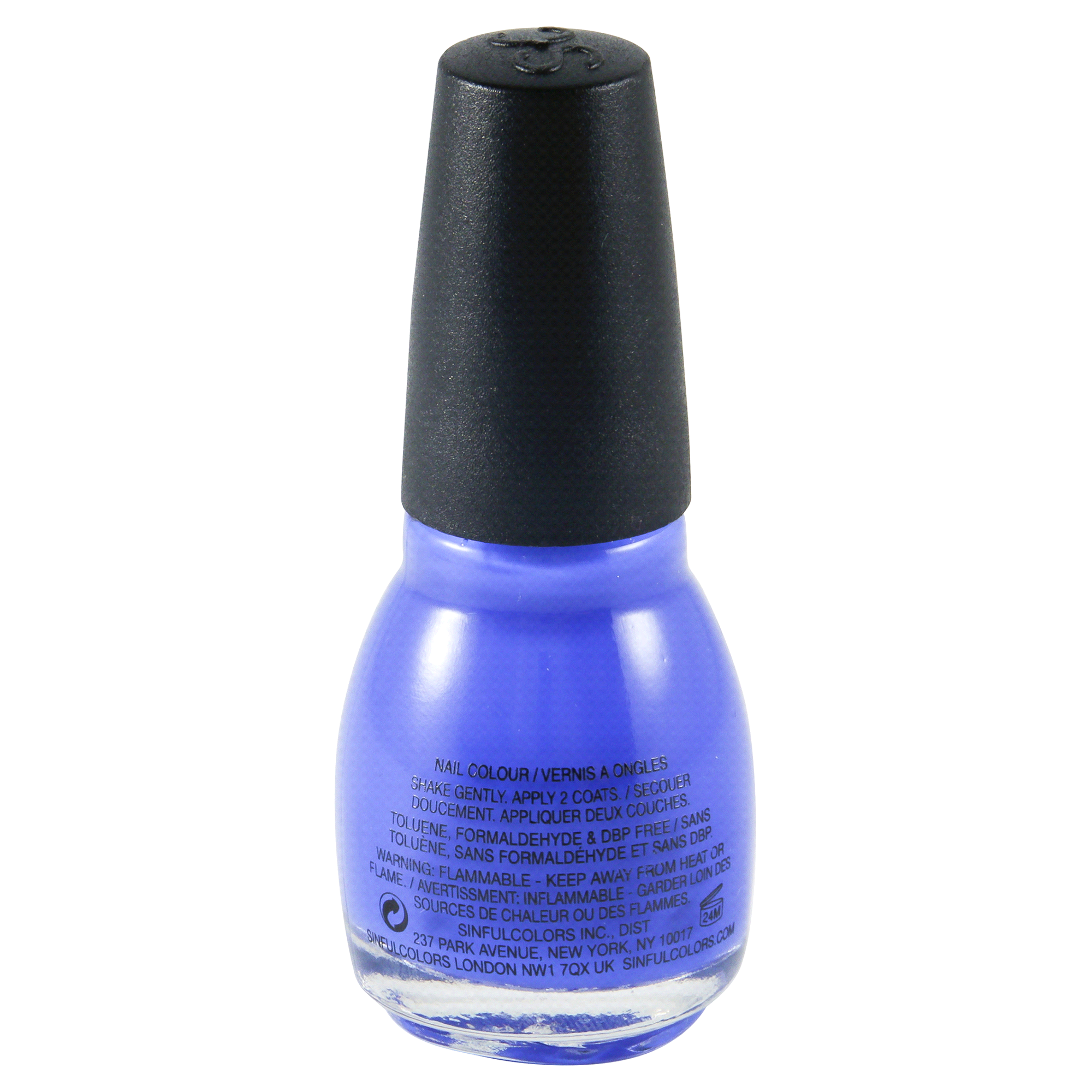 Sinful Colors Nail Polish, Endless Blue