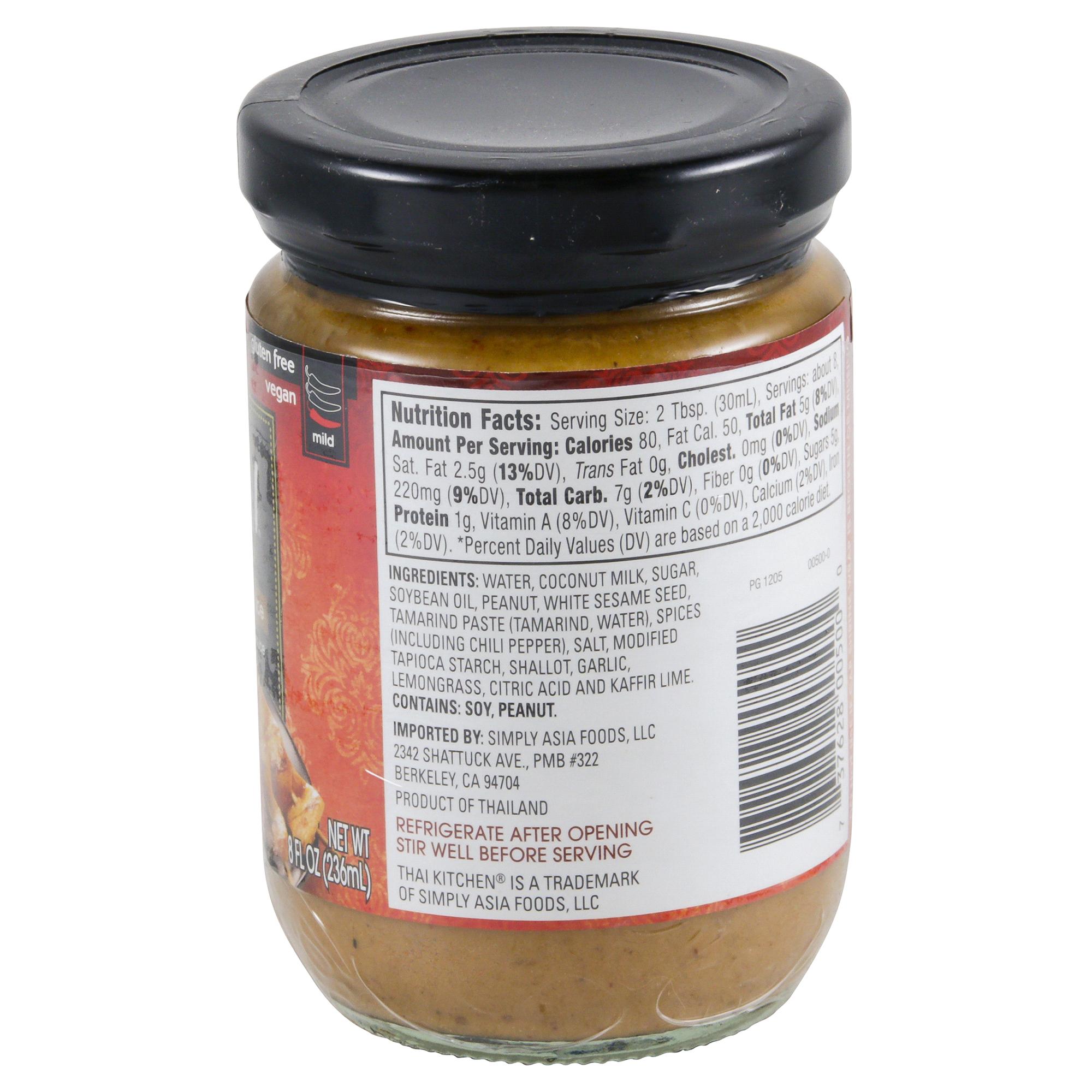 Thai Kitchen Peanut Satay Sauce 8 Oz | Meijer.com